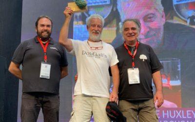 Andrew Dougall, premio Steve Huxley a toda una trayectoria en el mundo de la cerveza